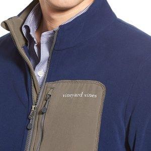 Vineyard Vines Still River Fleece Zipper Jacket